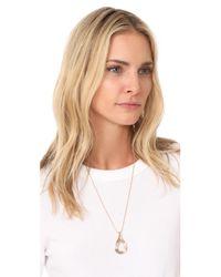 Pamela Love - Metallic Arco Pendant Necklace - Lyst