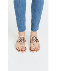 Tory Burch Multicolor Miller Thong Sandals