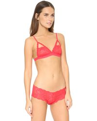 Cosabella - Red Never Say Never Naughtie Soft Bra - Lyst