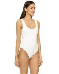 Marysia Swim White Palm Springs Maillot