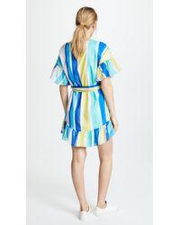 Amanda Uprichard Blue Fairview Dress