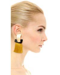 Lizzie Fortunato | Multicolor Totem Tassel Earrings | Lyst
