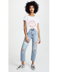 Private Party - White Girl Gang Tee - Lyst
