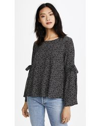 Velvet - Black Amanda Top - Lyst