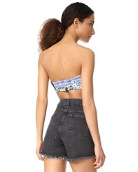 Free People - Blue Loren Festival Top - Lyst