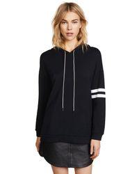 Velvet Black Hevera Sweatshirt
