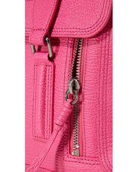3.1 Phillip Lim | Pink Pashli Medium Satchel Shoulder Bag | Lyst
