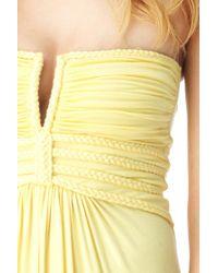 Sky - Yellow Quike Maxi Dress - Lyst