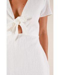 Showpo White Serene Dreamer Dress