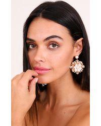 Showpo - Multicolor Aphrodite Earrings In Gold - Lyst