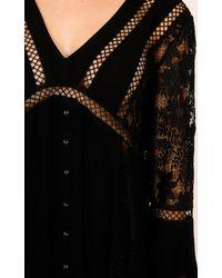 Showpo - Like A Bird Dress In Black - Lyst