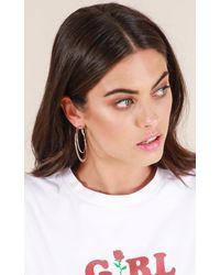 Showpo - Multicolor Lost Opportunity Earrings In Silver - Lyst
