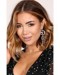 Showpo - Multicolor Amnesia Earrings In Silver - Lyst