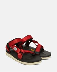 Suicoke Red Depa-v2 Sandals