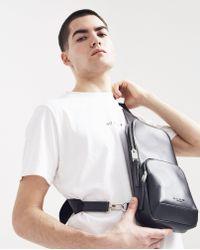 1017 ALYX 9SM Black Leather Cross Body Bag for men