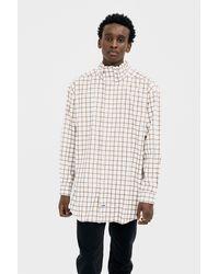 Martine Rose White Drawcord Shirt for men