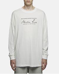 Martine Rose Multicolor Classic Logo Long Sleeve T-shirt for men