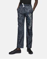 Tigran Avetisyan Gray Leopard Trousers for men