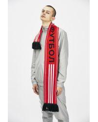 Gosha Rubchinskiy - Red Adidas Football Scarf for Men - Lyst