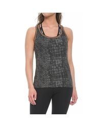 Yummie By Heather Thomson Gray Maria Tank Top (for Women)