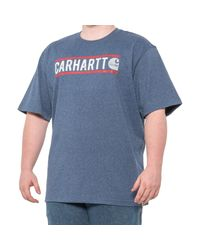 Carhartt Blue 104600 Original Fit T-shirt for men