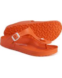 Aerosoft Orange Thong Slides