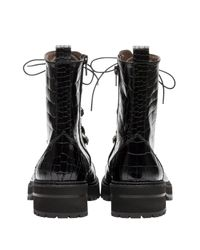 Pertini Black Stiefel aus Metall