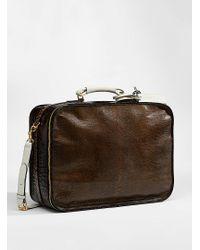 Marni Multicolor Reptile Travel Bag for men