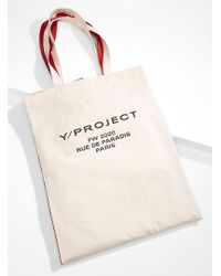 Y. Project Red Double Tote for men