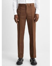 Wooyoungmi Modern Brown Pant for men