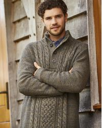 Simply Be - Multicolor Joe Browns Fabulous Funnel Cable Knit Jumper for Men - Lyst