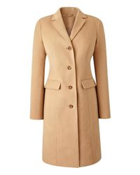 Simply Be - Black Single Breasted Coat - Lyst