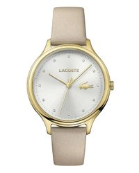 Simply Be - Metallic Lacoste Ladies White Silicon Strap Watch - Lyst
