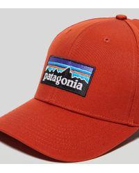 Patagonia | Red P6 Roger Cap for Men | Lyst