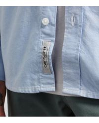 Carhartt WIP | Blue Pocket Shirt for Men | Lyst