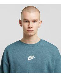 Sweat Heritage Nike pour homme en coloris Blue