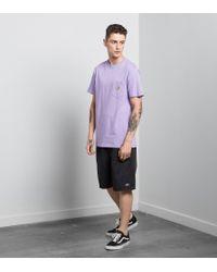 Carhartt WIP - Purple Pocket T-shirt for Men - Lyst