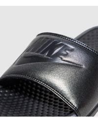 Nike | Black Benassi Women's | Lyst