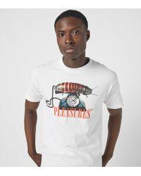 Dial T-Shirt Pleasures de color White