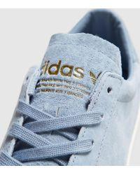 Adidas Originals - Blue Court Vantage Suede for Men - Lyst