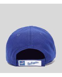 9FORTY LA Strapback KTZ de hombre de color Blue