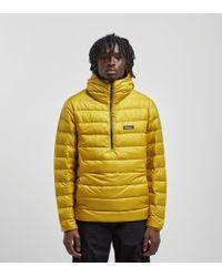 Patagonia Down Sweater Hoody Pullover in Yellow für Herren
