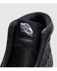 Vans - Black Sk8-hi Laceless Platform X Karl Lagerfeld Women's - Lyst
