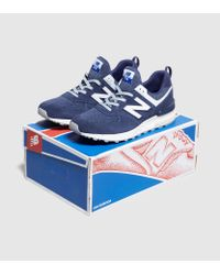 New Balance - Blue 574 Sport for Men - Lyst