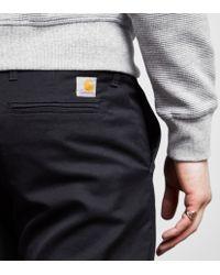 Carhartt WIP Black Sid Pants for men