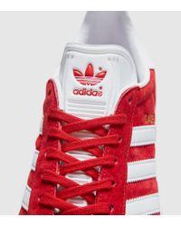 Adidas Originals - Red Gazelle for Men - Lyst