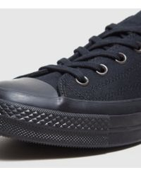 Converse Black Chuck Taylor All Star Ox '70 for men