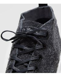 Dr. Martens Black Baynes Wooly Suede Boots Women's