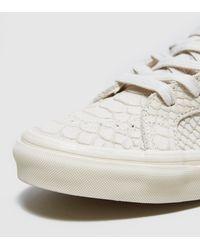 Vans   White Sk8-hi Zip Mono Women's   Lyst
