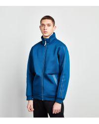 39a15676f1e2 Adidas Originals Freizeit Track Top in Blue for Men - Lyst